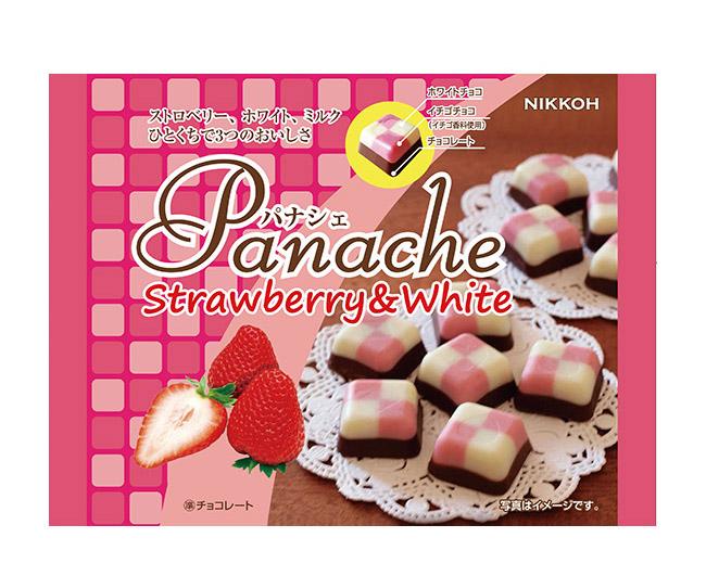 Panache(パナシェ)シリーズストロベリー&ホワイト
