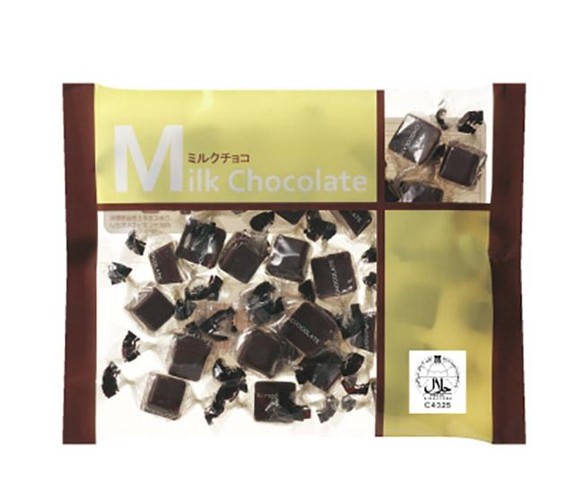 徳用ファミリーサイズ160gミルクチョコレート
